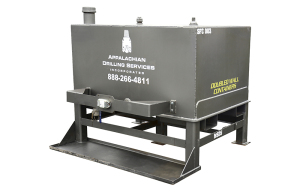 Appalachian Drilling Services: Single Compartment Chemical/Lubricant Unit