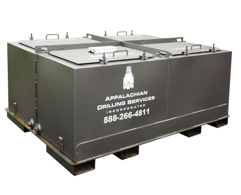 Appalachian Drilling Systems: Four-Compartment Solid Waste Unit