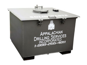 Appalachian Drilling Systems: Single-Compartment Solid Waste Unit